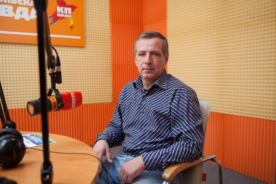 Президент федерации футбола Ставропольского края Сергей Барабаш