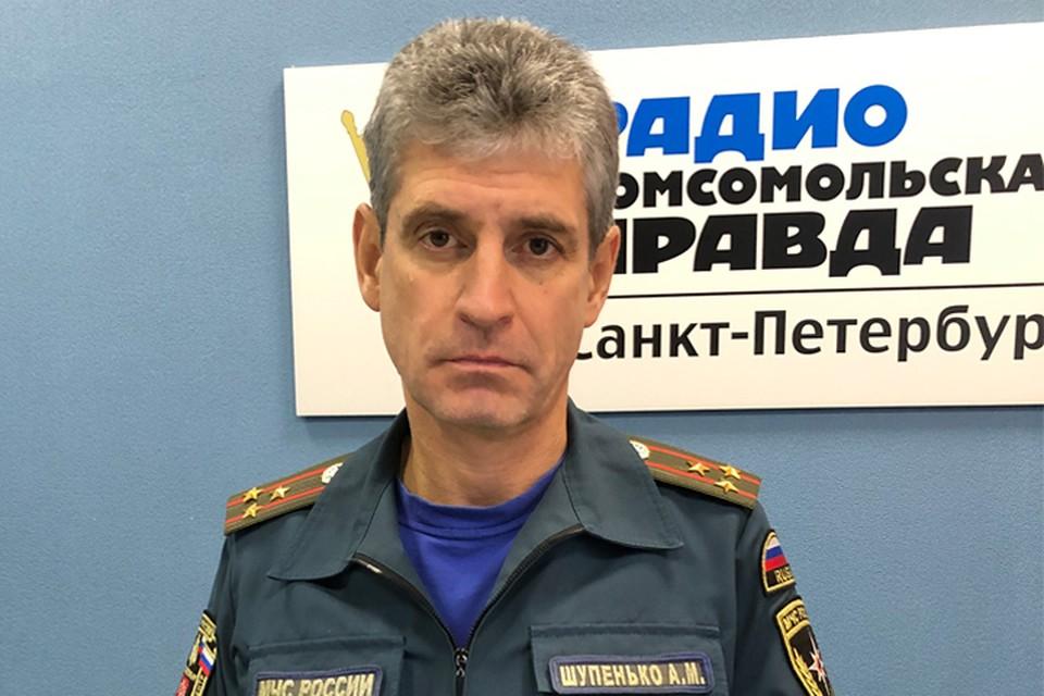 Алексей Шупенько в студии радио «Комсомольская Правда в Петербурге»