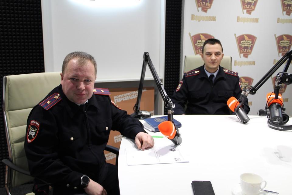 Виктор Аржаных и Сергей Докучаев.