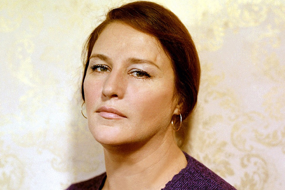 Народная артистка СССР Нонна Мордюкова.