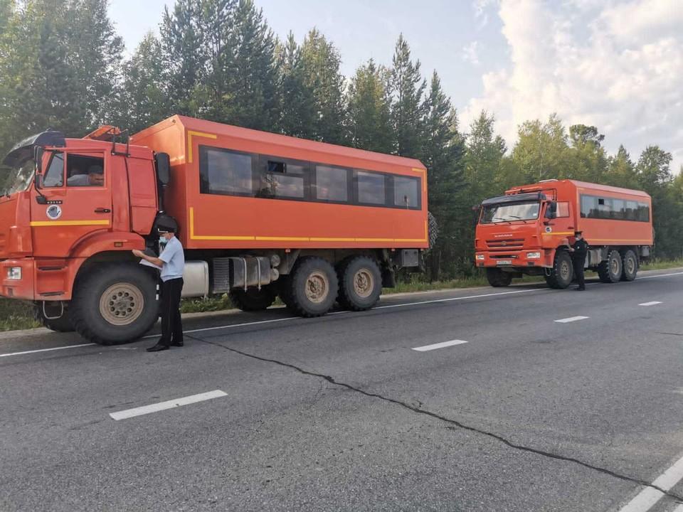 В Югре продолжается работа по контролю за безопасностью пассажирских перевозок. Фото - ГИБДД ХМАО.