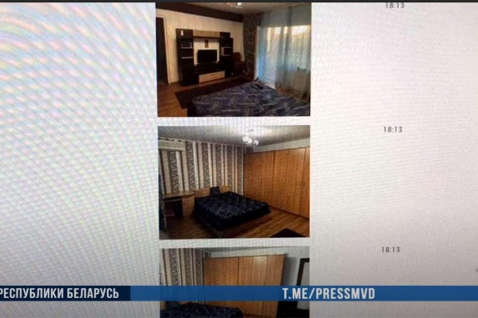 Квартиры с вот такими симпатичными интерьерами предлагали в аренду двое парней из Гродно. Никаких квартир не было, фото мошенники брали из интернета. Фото: Скрин из видео МВД.