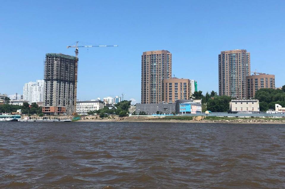 В Хабаровске живет около 610,3 тысяч человек