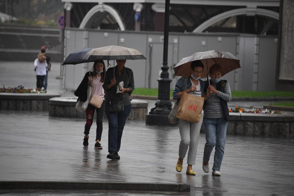 Дожди обещают сегодня и в донской столице