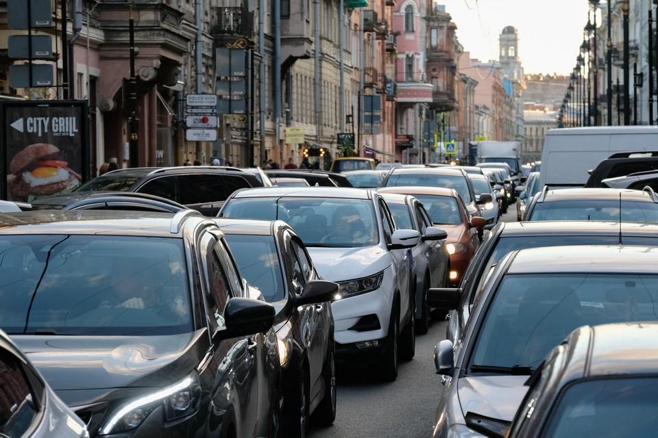 Обзор пробок в Петербурге на вечер 3 сентября 2021 года