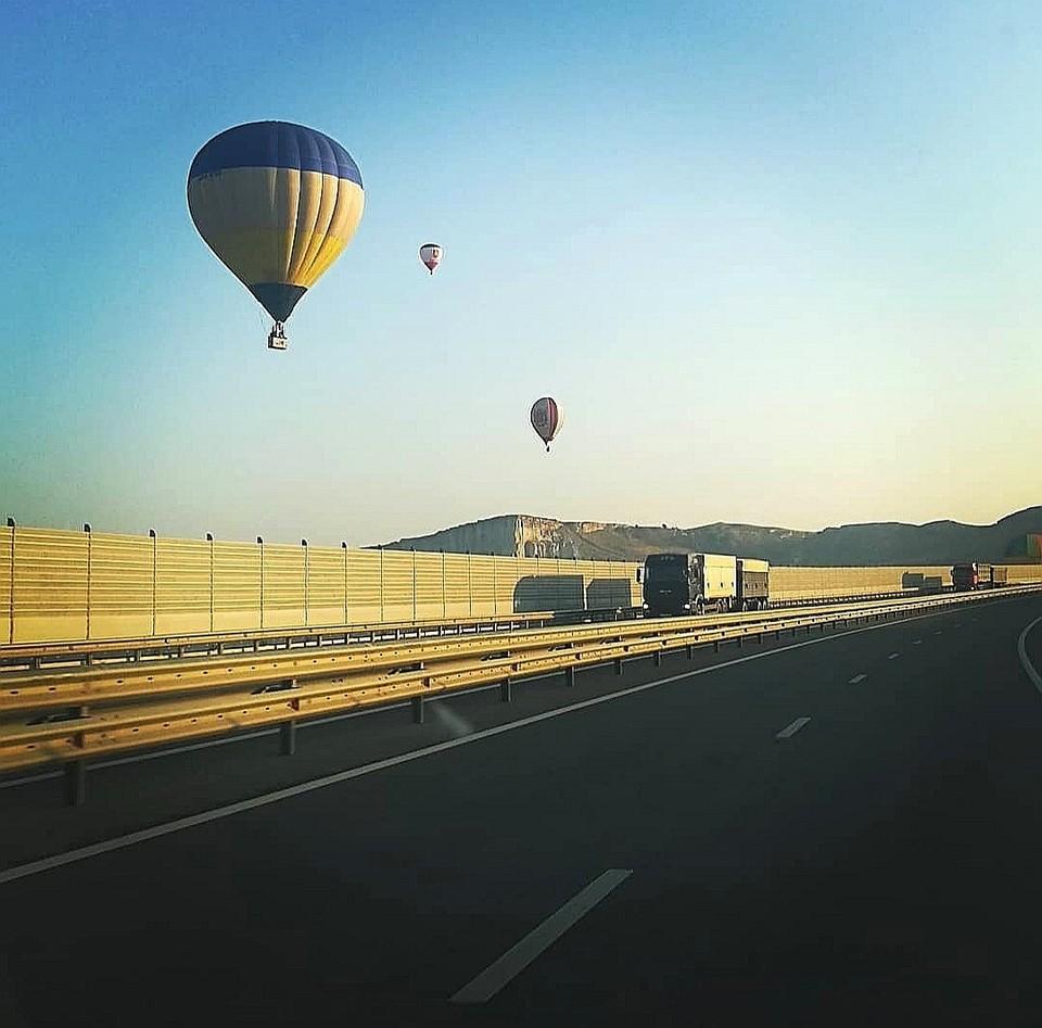 Воздушные шары летают над Тавридой. Фото: rkorsovetskiy/Instagram