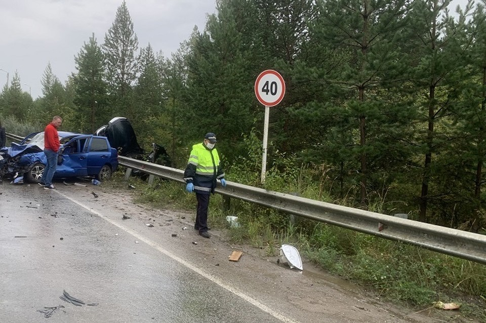 Авария произошла днем 4 сентября 2021 года в районе улицы Новокирпичная, 37. Фото: УГИБДД по Свердловской области