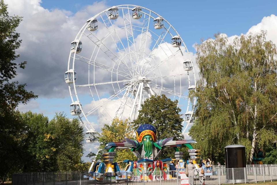 Городской парк в Отрадном благоустроили в 2020 году в рамках нацпроекта