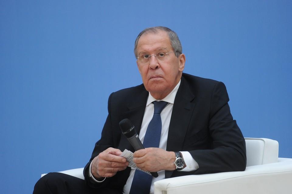 Сергей Лавров посетил Санкт-Петербург в понедельник, 6 сентября.