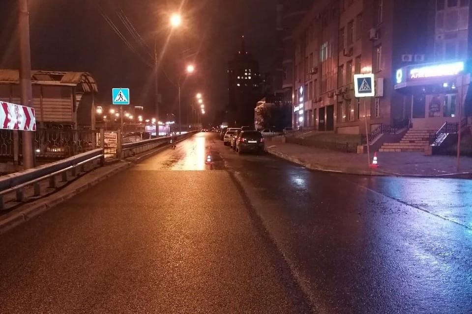 В Новосибирске, вечером, 9 сентября, сбили 11-летнюю девочку. Фото: Госавтоинспекция по Новосибирску