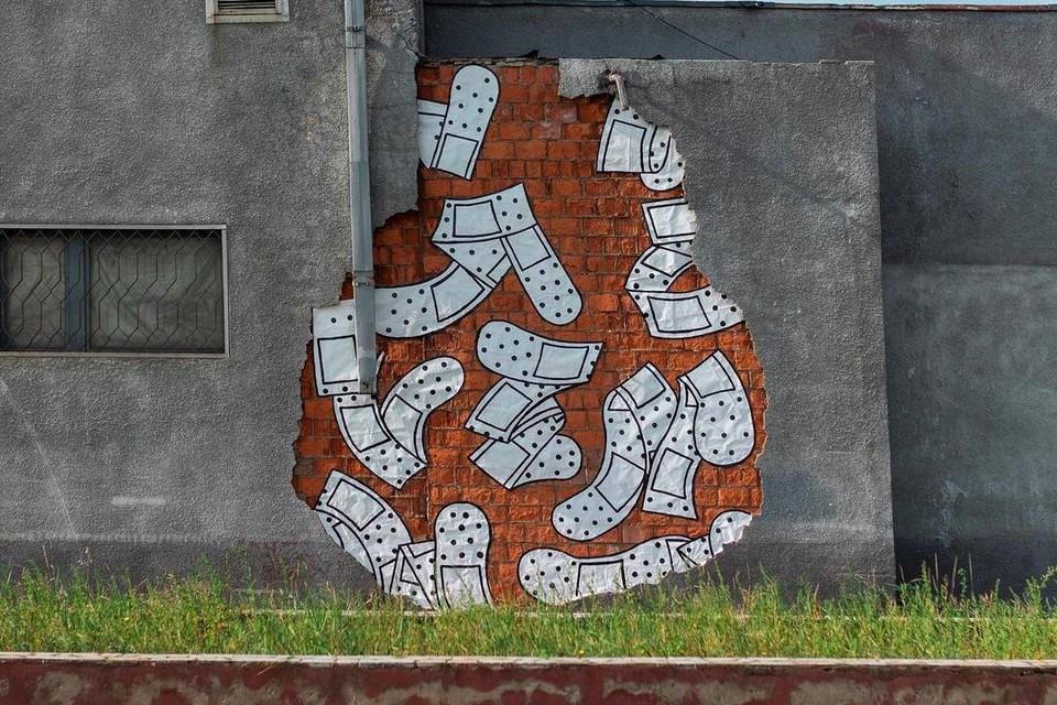 Юрий Дудь восхитился стритарт-фествалем в Братске. Фото: Григорий Шаров
