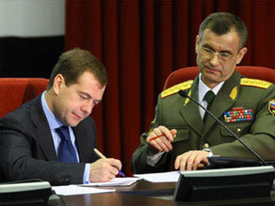 Медведев подписал новые отставки
