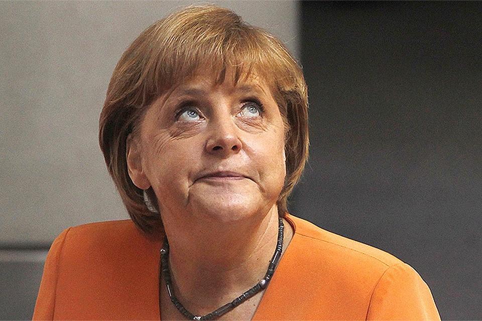 На Украине теперь и Меркель ла-ла-ла