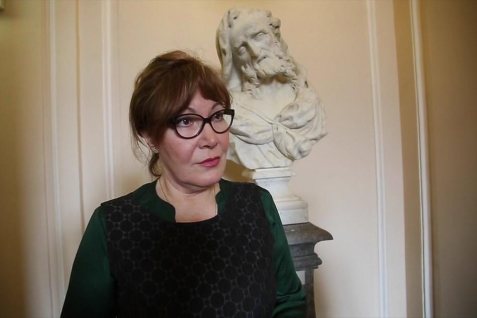 Ирина Геннадьевна Кузнецова - начальник службы безопасности Русского музея.